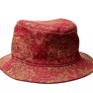 NWOT True Religion Signature Skull Bucket Hat L/XL